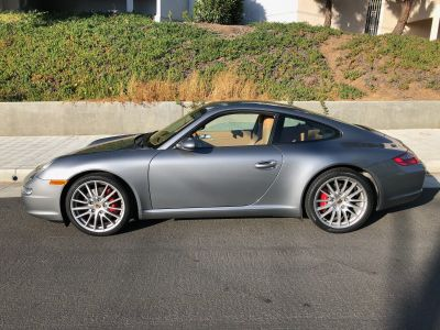 2005 Porsche 911 Carrera S, seal gray, sand beige, 41k miles, manual, new tires