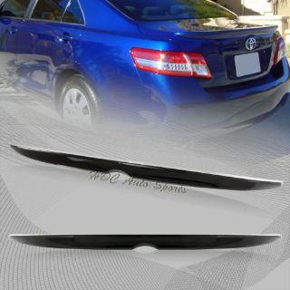 Sell For 2012-2014 Toyota Camry Black Painted ABS Plastic Rear Trunk Lid Spoiler Wing motorcycle in Walnut, California, United States