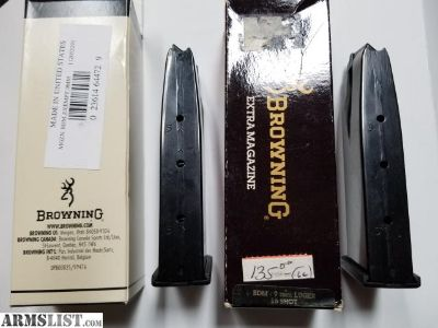 For Sale: Browning 15 round BDM magazine
