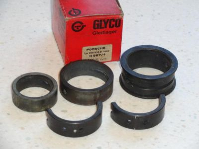 Purchase NEW OEM GERMAN GLYCO PORSCHE 356A 356B CRANKSHAFT MAIN BEARING SET .50 OVER motorcycle in Springfield, Vermont, US, for US $399.95