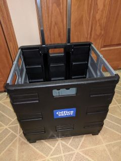 NEW Collapsible Cart on Wheels