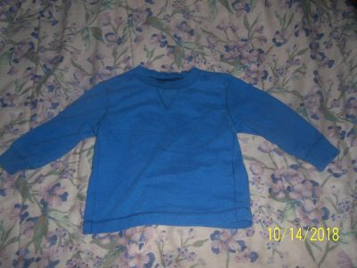 12-18 month old navy long sleeve shirt