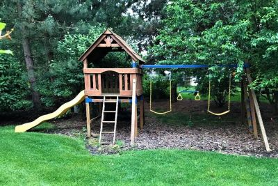 Swing Set - Wood