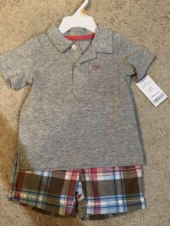 NWT Carters shorts outfit