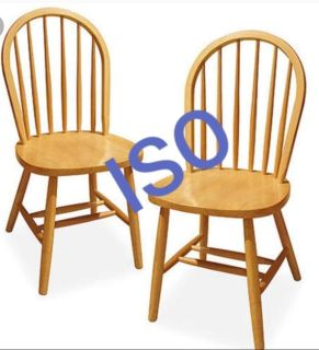Looking for these chairs for free preferably