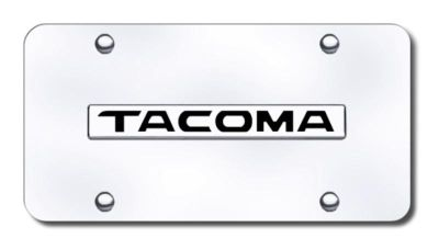Sell Toyota Tacoma Name Chrome on Chrome License Plate Made in USA Genuine motorcycle in San Tan Valley, Arizona, US, for US $32.92