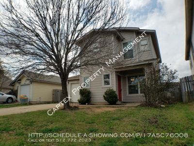 Del Valle Schools, Berdoll Farms Two Story 3 Bedroom