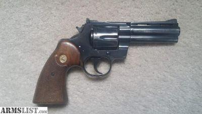 For Sale: Colt Python 357 magnum