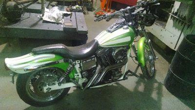 1993 Harley Dyna wide glide custom