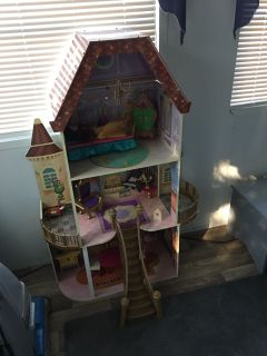Beauty and the beast doll house