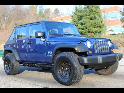 Used 2009 Jeep Wrangler Unlimited X 4WD, 42,897 miles