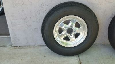 Mickey Thompson Tires with Jegs Wheels
