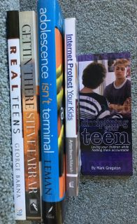 Parenting Teenagers - Lot of 5 Books