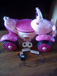 Princess battery operated ride-on