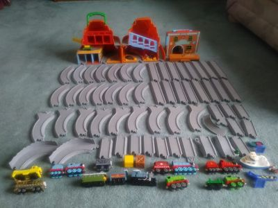 Vintage Lot Thomas Train & Track & Buildings