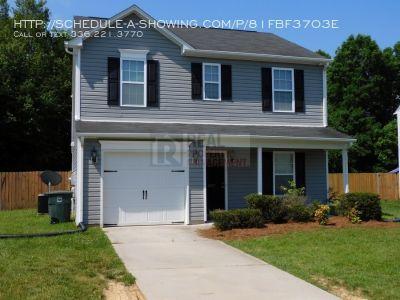 Newer 3BR/2.5BA with Garage & Fenced Yard 27406