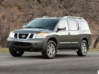 2012 Nissan Armada SV (Brilliant Silver)