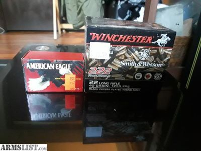 For Sale/Trade: .22 Ammo (400 rounds or so)