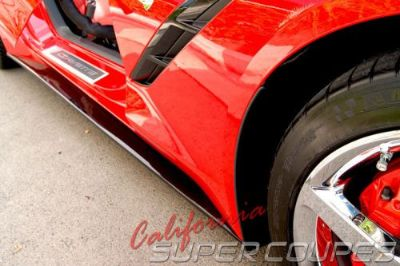 Find Corvette C7 Stingray Straight Style Side Skirts by CSC For Base Model 2014-2016 motorcycle in Sun City, California, United States, for US $499.00