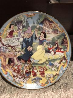 The Fairest One of All musical collector plate