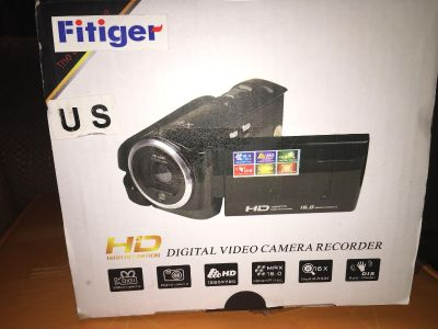 Hand held video camcorder. New