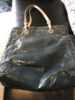 Authentic Teal MK Tote