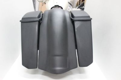 "Purchase 6"" BAGGER STRETCHED EXTENDED SADDLEBAGS & FENDER FOR HARLEY DAVIDSON NO CUTOUTS motorcycle in Port Saint Lucie, Florida, United States, for US $725.00"