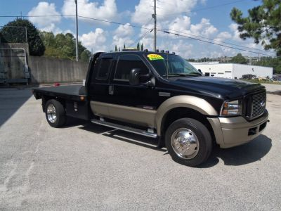 2005 Ford F550 Flatbed (Black)