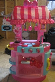 **EUC Hello Kitty Kitchen Cafe EXCELLENT CONDITION w/accessories!!