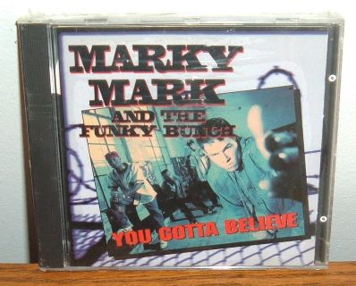 NEW Marky Mark and The Funky Bunch You Gotta Believe CD Rare OOP HTF Vtg 1992