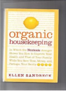 $5 organic housekeeping by Ellen Sandbeck (hardcover)
