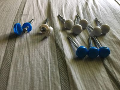 10 Specialty Screws w/ Covers - Swap Only