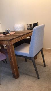 4 DINING CHAIRS - NEW IN THE BOX