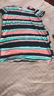 size2x tunic worn once