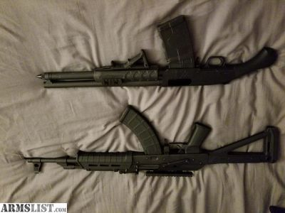 For Trade: Century arms AK-47 and Black aces shockwave