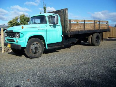 1959 Dodge Farm Truck Flatbed/Dump With 16 Foot Bed