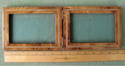 * ~ ~ ~ Vintage GUCCI ~ ~ Rare Double Picture Frame ~ ~ ~ *
