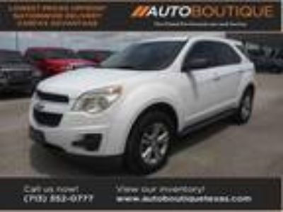 used 2010 Chevrolet Equinox for sale.