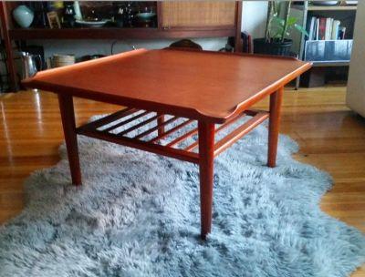 Vintage Soren Georg Jensen/KUBUS Teak Coffee Table