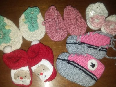 5 Pairs of Baby Shoes