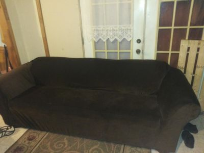 Sofa with cover