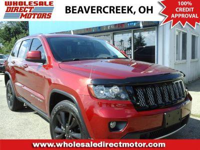 2012 Jeep Grand Cherokee Laredo X (Deep Cherry Red Crystal Pearl)