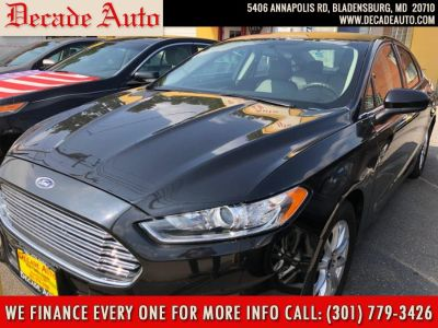 2015 Ford Fusion 4dr Sdn S FWD (black)