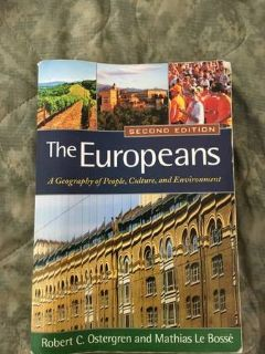The Europeans A geography of people, culture, and environment