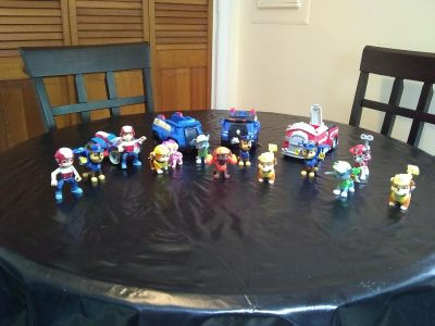 Paw Patrol Character Toy Lot
