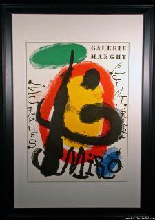Peintures Original Lithograph Poster by Joan Miro