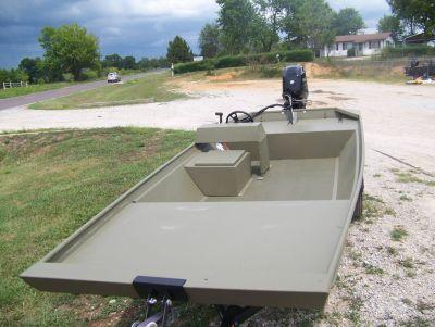 2018 Lowe ROUGHNECK 1760 BIG RIVER W/ MERCURY 40 JET & TRAILER Utility Boats West Plains, MO