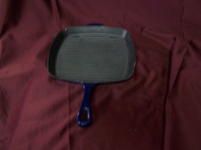 Blue Grill Pan