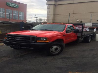 2000 Ford F550 SUPER DUTY (RED)