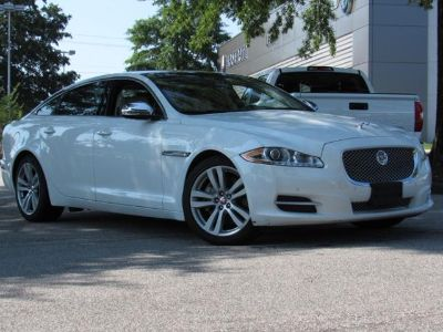 2015 Jaguar XJL Portfolio (Polaris White)